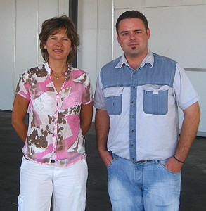 Citri Fruit MD Rentia Visser and pack house manager Matthys van Heerden
